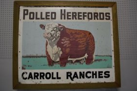 Cow sign