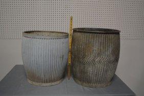 Zinc barrels