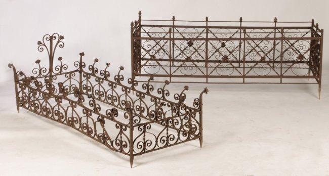 Antiques - grave fences