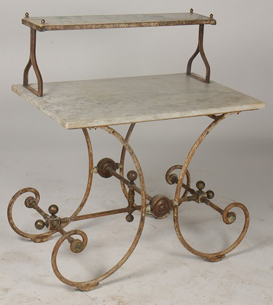 Antiques - pastry table