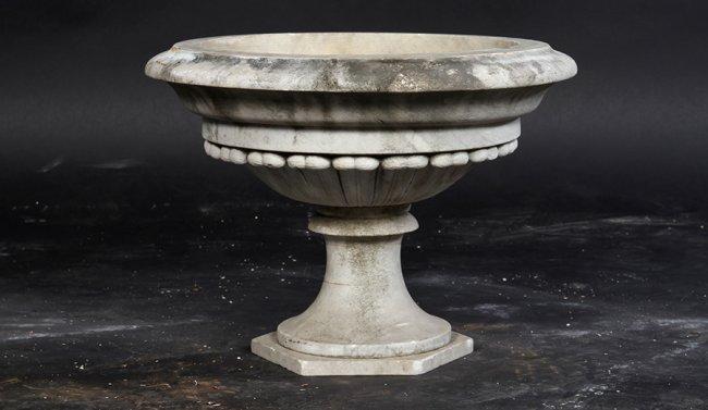 antique stone urn
