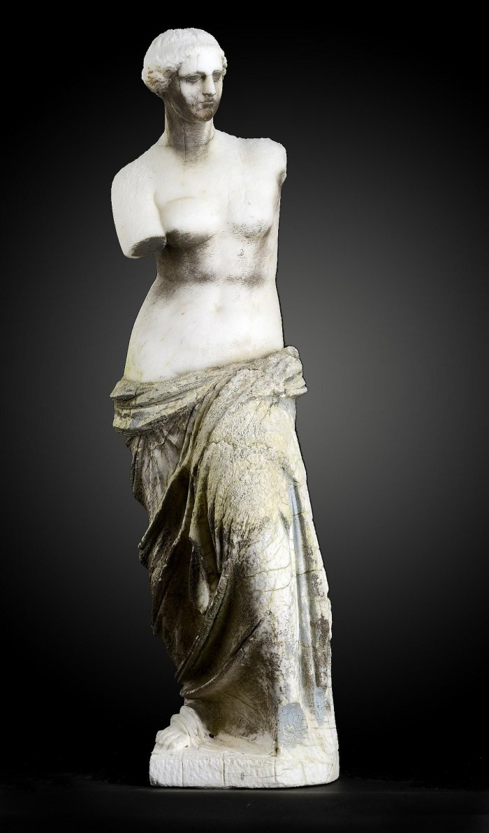 auction 6-16 marble Venus