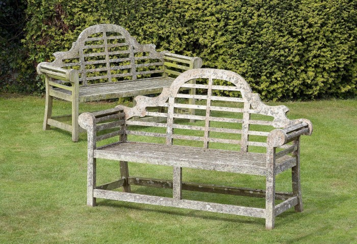 antique Lutyens bench
