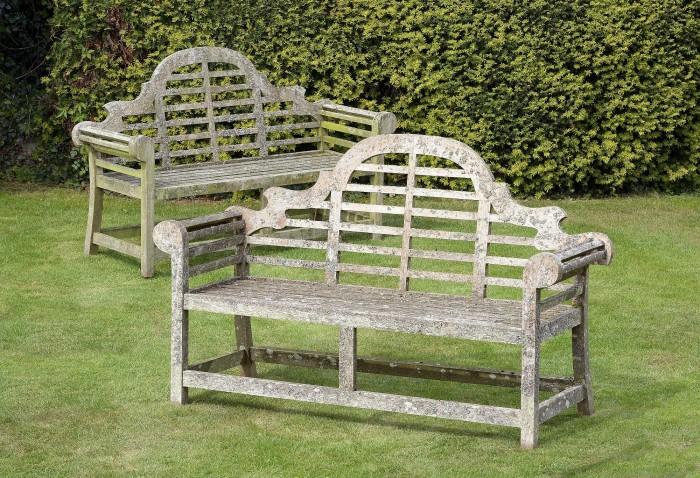 antique Lutyens bench