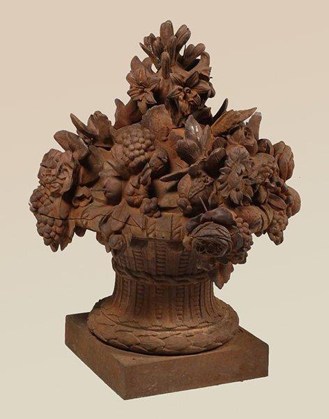 Antiques - iron basket