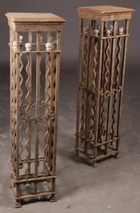Antiques - iron columns