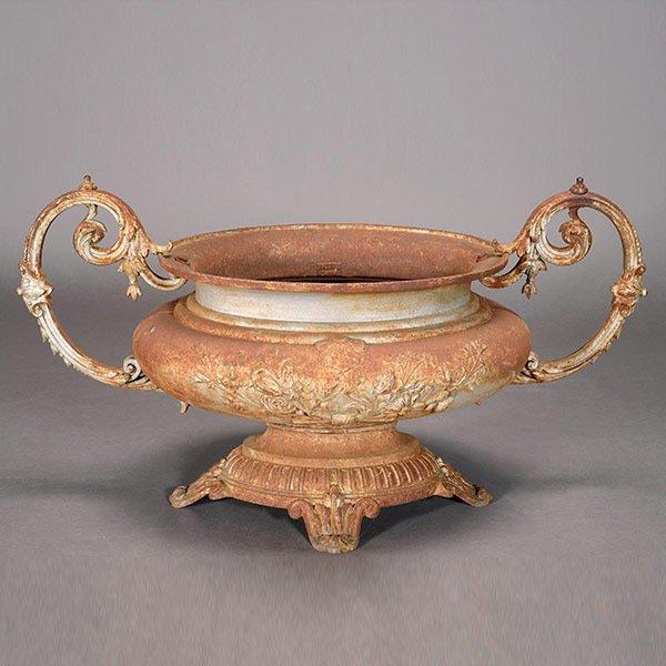 Antiques - iron urn