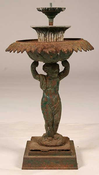 Antiques - small fountain