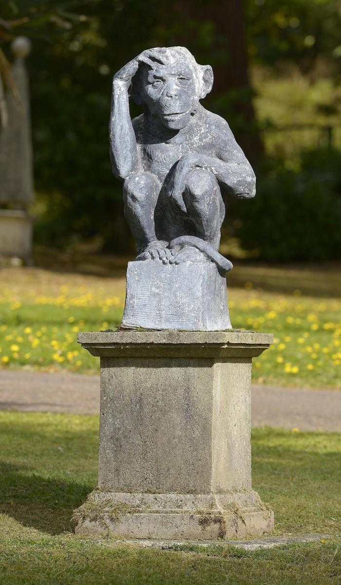 antique chimp